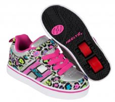 Heelys X2 Bolt Silver-Multi-Cheetah